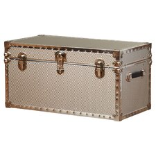 Boston Embossed Steel Storage Trunk with Locker by Williston Forge