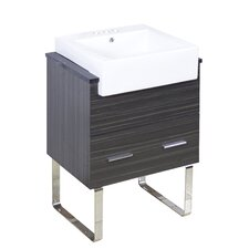 Mulberry Floor Mount 24 Single Bathroom Vanity Set by Orren Ellis