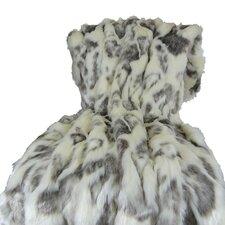 Rabbit Fur Handmade Throw