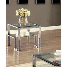 Scheider Stacked Shelf End Table by Mercer41™