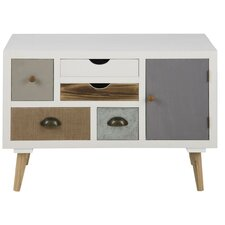 Kourtney 1 Door 5 Drawer Combi Cabinet