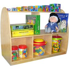 Two Sided Arch 30 Bookcase by A+ Child Supply