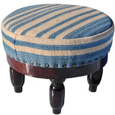 Upholstered Ottoman by Herat Oriental