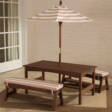 Kids 6 Piece Rectangular Furniture Set