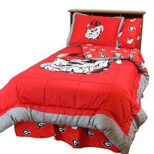 NCAA Georgia Reversible Comforter Set
