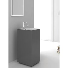 Springhill Gray Pedestal by Fine Fixtures