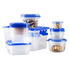 Wayfair Basics Plastic 27 Container Food Storage Set