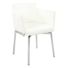 Linwood Club Style Swivel Arm Chair (Set of 2)