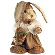 Standing Rabbit Easter Decoration