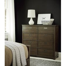 Varsity 8 Drawer Dressing Chest by SmartStuff Furniture