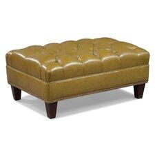 Leather  Ottoman by Fairfield Chair