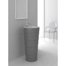 Rockview Gray Pedestal by Fine Fixtures