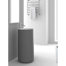Crestview Gray Pedestal by Fine Fixtures