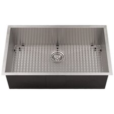 "Zero Radius 26"" x 19"" Kitchen Sink"