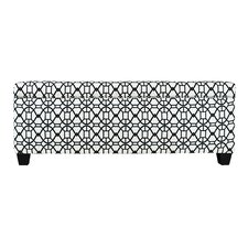 Noah Fabric Storage Bedroom Bench by The Sole Secret