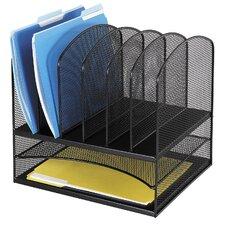 Mesh 2 Shelf Desk Organiser