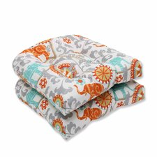Menagerie Outdoor Dining Chair Cushion (Set of 2)