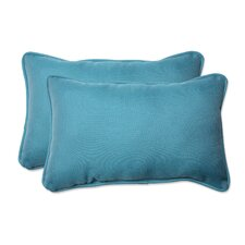 Tweed Outdoor Lumbar Pillow (Set of 2)