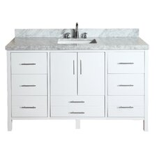 "California 60"" Single Bathroom Vanity Set"