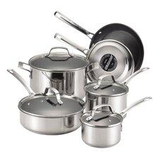 Genesis 10 Piece Stainless Steel Cookware Set