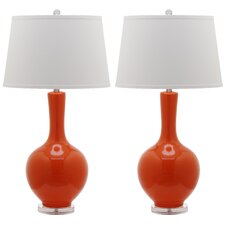 "Eukleides 32"" Table Lamp (Set of 2)"