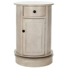 Brownsburg Swivel Oval 1 Drawer Cabinet by Charlton Home
