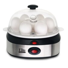 Platinum Stainless Steel Automatic Egg Cooker