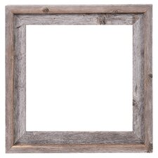 reclaimed barn wood open frame