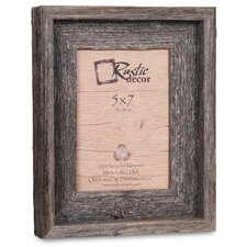 quick view barn wood reclaimed wood signature picture frame by rustic decor
