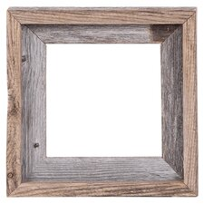 barn wood reclaimed wood open picture frame