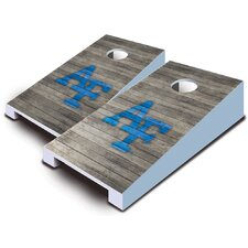 NCAA 10 Piece Distressed Tabletop Cornhole Set