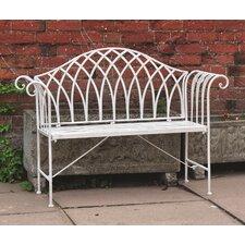 Vintage 2 Seater Steel Garden Bench