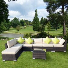 Sectional Sofa Set with Cushions