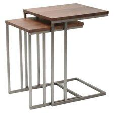 Wallick 2 Piece Nesting Tables