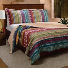 Yesilkoy Reversible Quilt Set