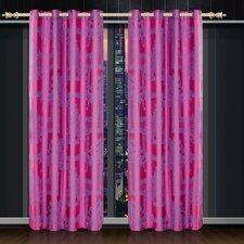 Prasad Cotton Paisley Blackout Thermal Grommet Single Curtain Panel