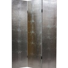 "70.88"" x 47.25"" Weir 3 Panel Room Divider"