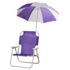 Alexus Umbrella Kids Beach Chair by Zoomie Kids