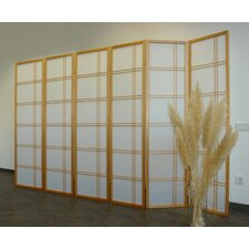 Raumteiler Shiro Style, 6-teilig, 171 x 245 cm