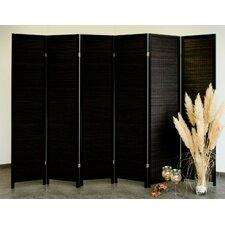 6-tlg. Raumteiler Wood, 179 x 245 cm