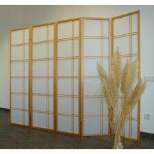 Raumteiler Shiro Style, 5-teilig, 171 x 200 cm