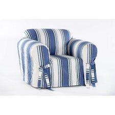 Cotton Duck Armchair Slipcover