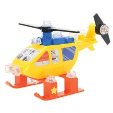Design and Drill Power Play Vehicles Helicopter