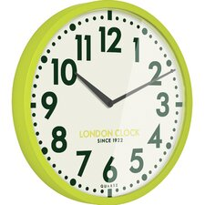 Retro 50cm Limelight Wall Clock