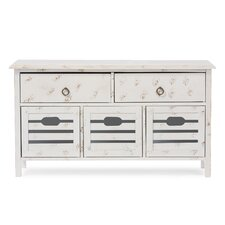 Baxton Studio Rococo Shabby Elegance 5 Drawer Storage Bench by Wholesale Interiors