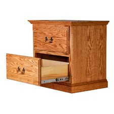 2 Drawer Nightstand by Forest Designs