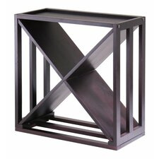 "Kingston ""X"" Cube 24 Bottle Floor Wine Rack"