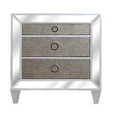 Ponti 3 Drawer Bachelor's Chest by Mercer41™