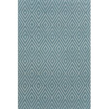 Diamond Hand Woven Gray Indoor/Outdoor Area Rug