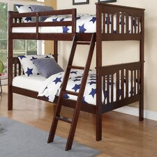 Franklin Twin Slat Bunk Bed by Donco Kids